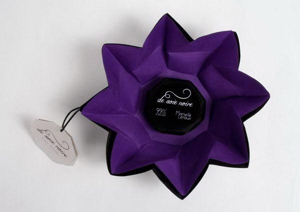 甜蜜像花儿一样,能绽放的巧克力包装第5张图片