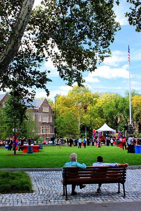 宾夕法尼亚大学步行街第10张图片