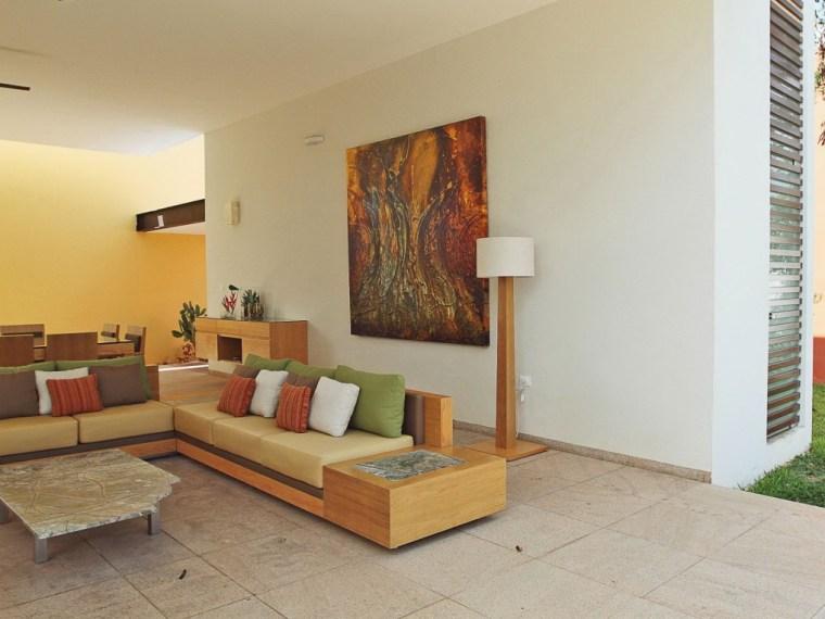 墨西哥开放式住宅