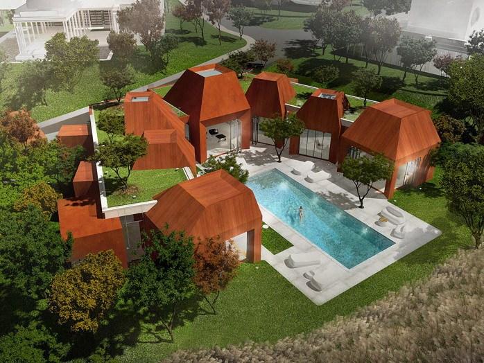 火山岩状的住宅第1张图片