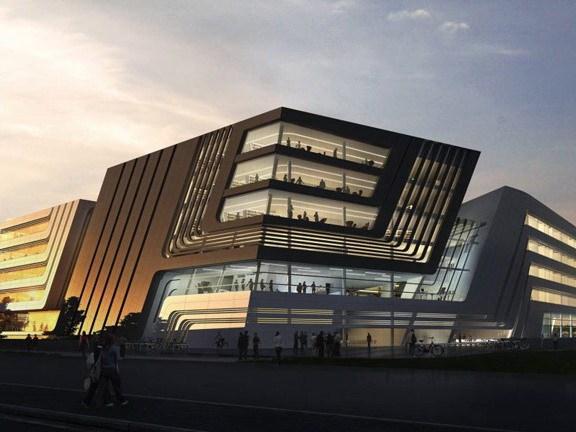 维也纳财经大学图书馆及学习中心