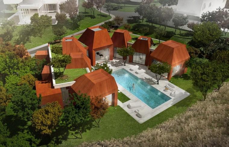 火山岩状的住宅第2张图片