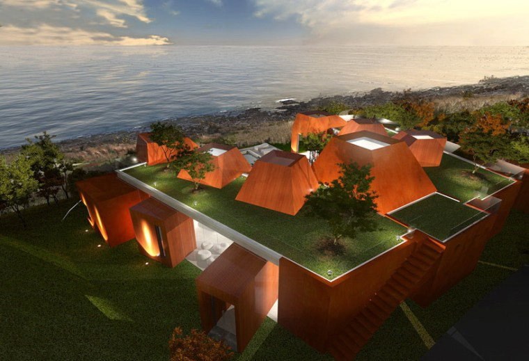 火山岩状的住宅第3张图片