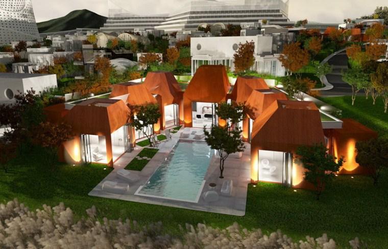 火山岩状的住宅第4张图片