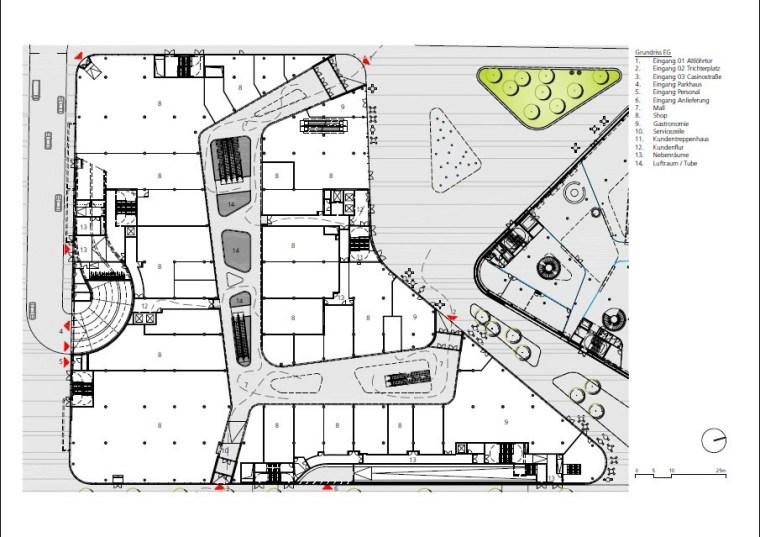 德国Zentralplatz广场重建项目第27张图片