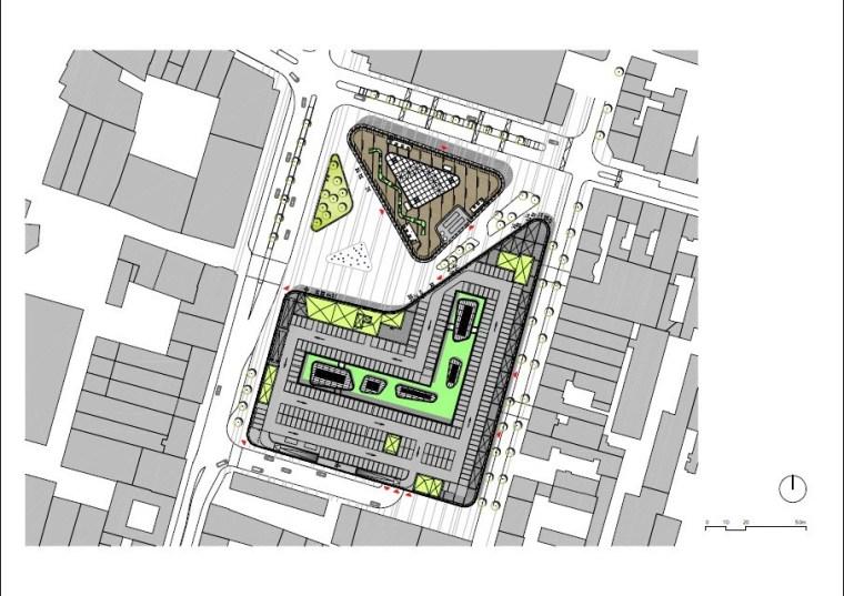 德国Zentralplatz广场重建项目第29张图片