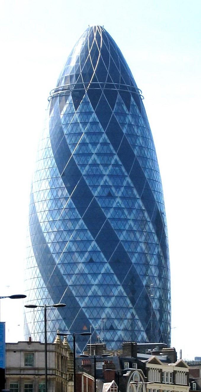 变绿的伦敦黄瓜塔第4张图片