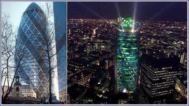 变绿的伦敦黄瓜塔第6张图片