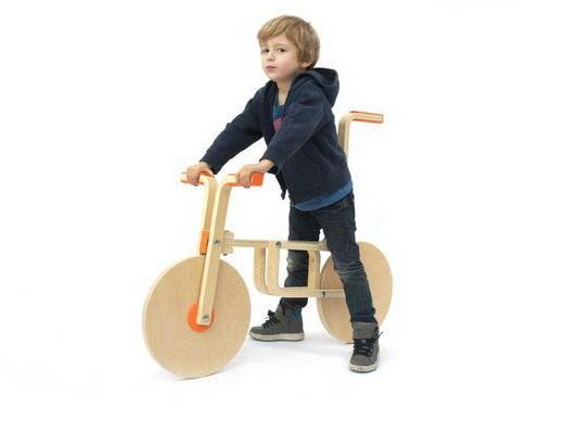 """把凳子变成儿童自行车,创意无限""""玩""""宜家第1张图片"""