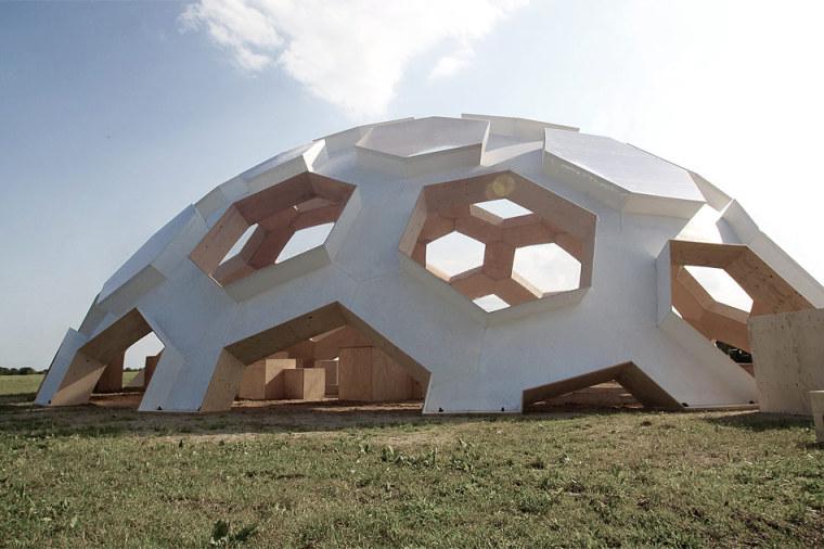 Roskilde半球建筑第6张图片