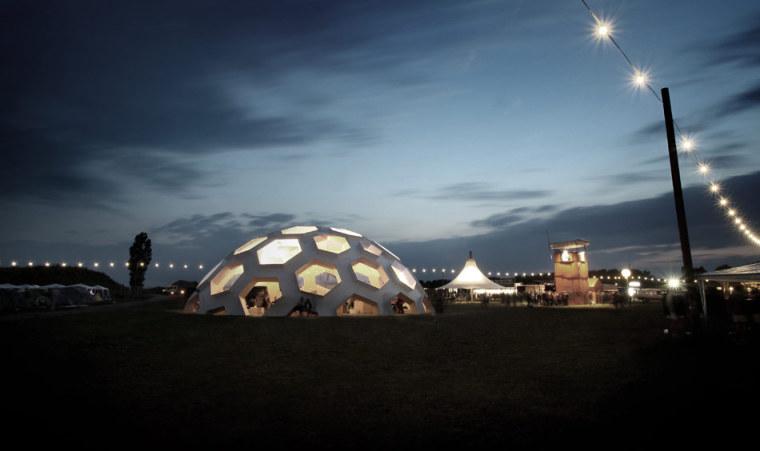 Roskilde半球建筑第13张图片