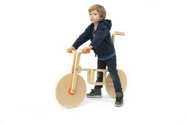 """把凳子变成儿童自行车,创意无限""""玩""""宜家第2张图片"""