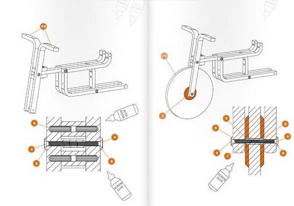 """把凳子变成儿童自行车,创意无限""""玩""""宜家第8张图片"""