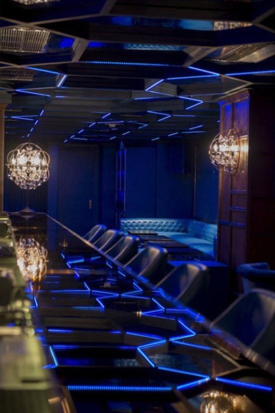 香港Boujis俱乐部娱乐照明设计欣赏第3张图片