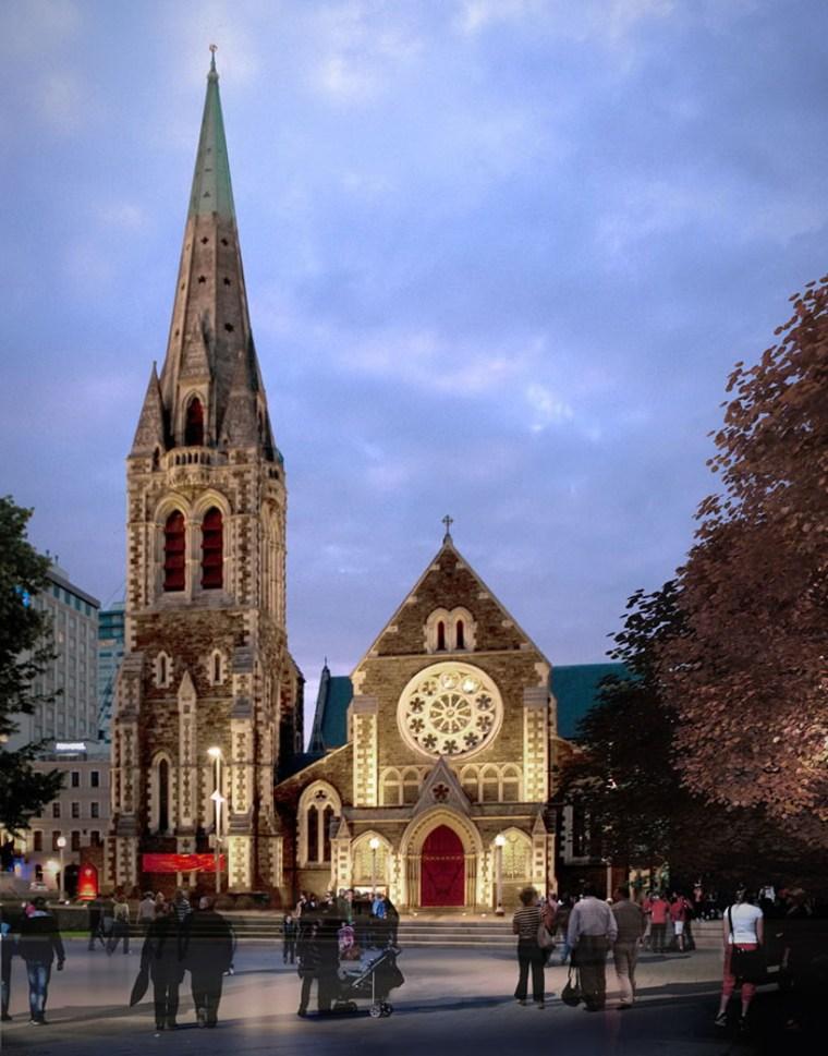 Christchurch教堂在争议中革新第5张图片
