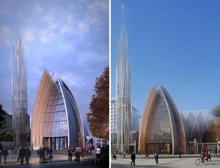 Christchurch教堂在争议中革新第11张图片