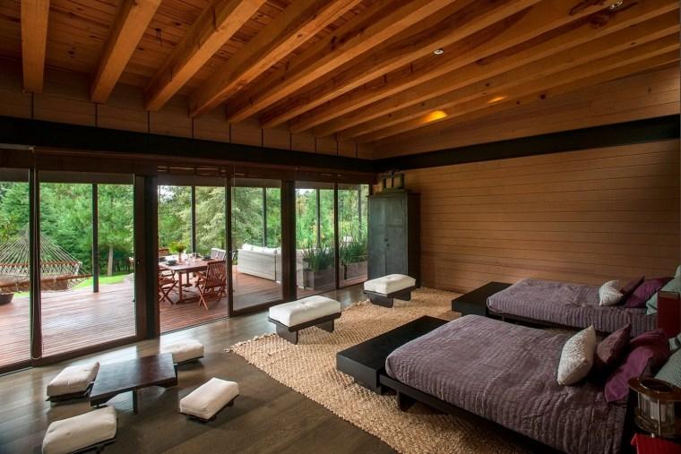 2-森林深处的木结构别墅第3张图片