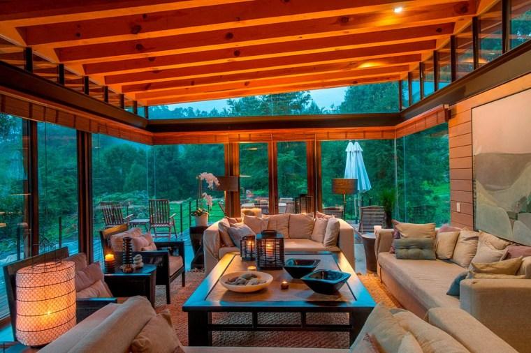 3-森林深处的木结构别墅第4张图片