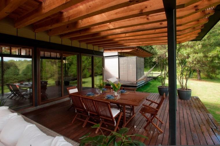 森林深处的木结构别墅第20张图片