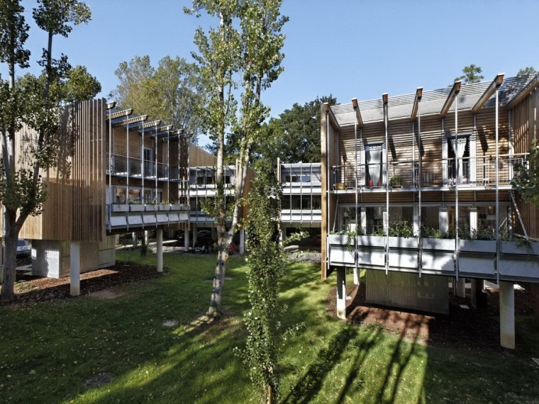 La Canopée生态住宅区