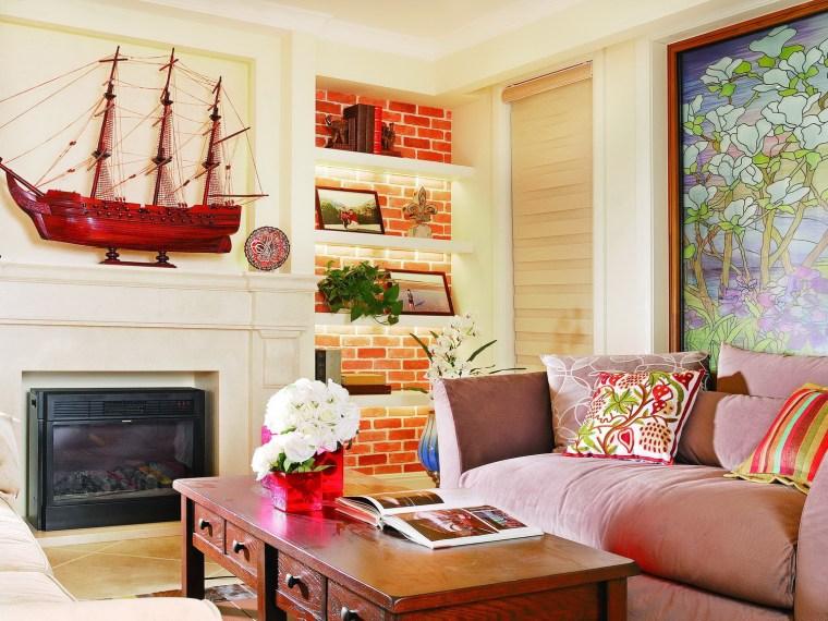 神奇的别墅装饰  把春天留在家里