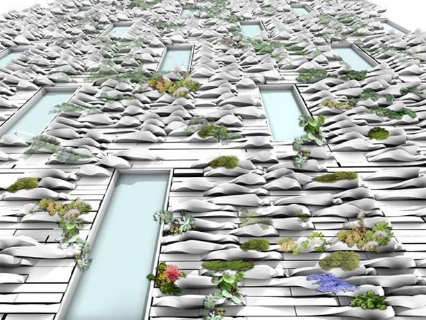 3D印制花盆砖