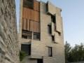 用废石材料建造的公寓