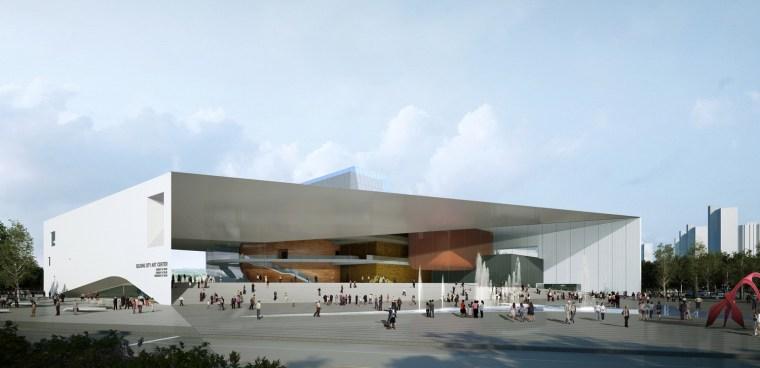 vip室3d模型资料下载-世宗艺术中心设计方案