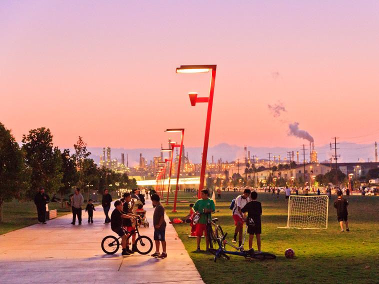 洛杉矶滨水公园