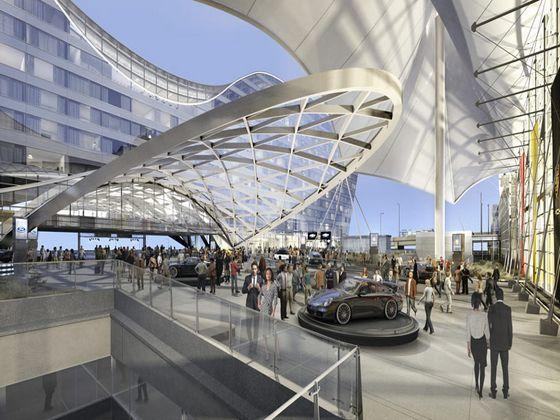 丹佛国际机场南航站楼