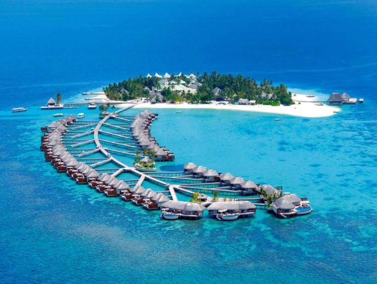 马尔代夫W水疗酒店