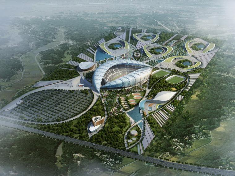 泛非运动会场地规划方案