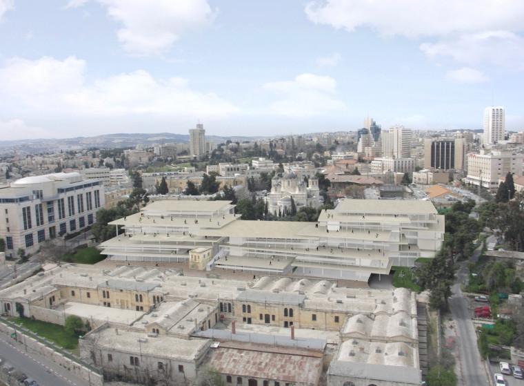 耶路撒冷艺术与设计学院新教学楼