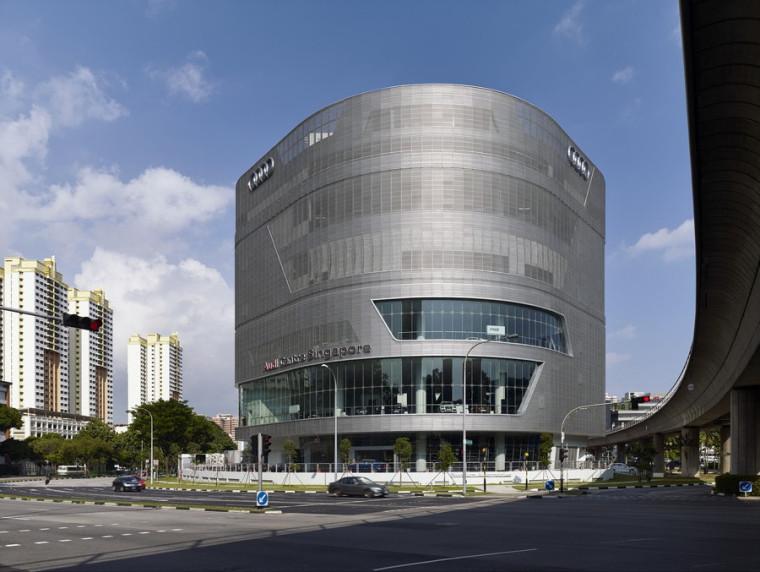 奥迪新加坡展厅