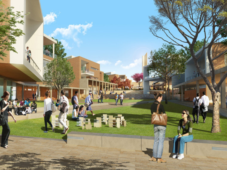 危地马拉地峡大学整体规划