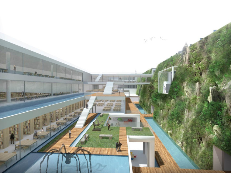 台中文化中心设计