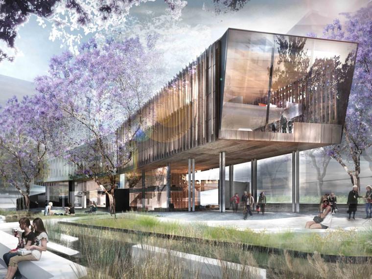 悉尼绿地图书馆竞赛项目
