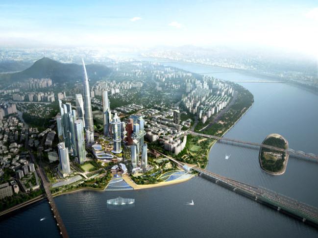 韩国龙谷商业区