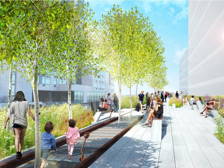 纽约市高线公园第三阶段项目设计方案