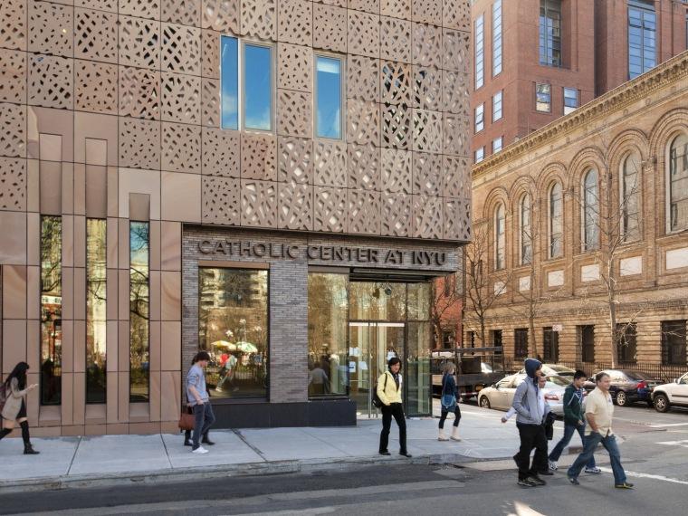 Machado等联合设计的纽约学术和精神生活研究中心