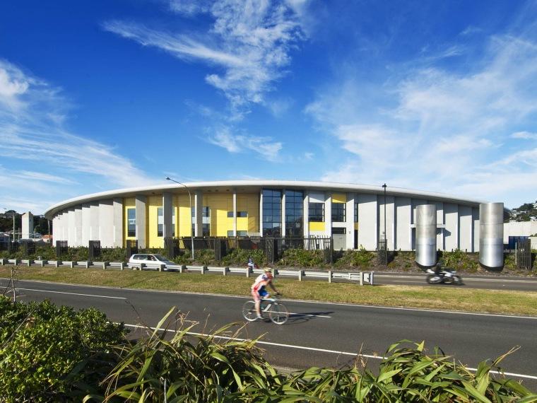 Tennent + Brown设计的新西兰ASB体育中心