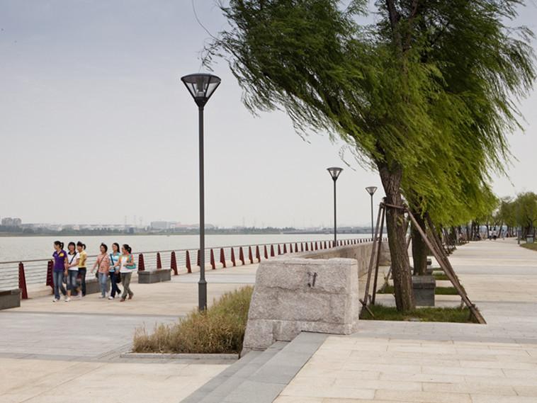 西桥公园龙子湖总体规划