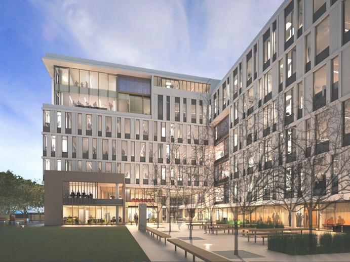 旧金山加州大学教学楼