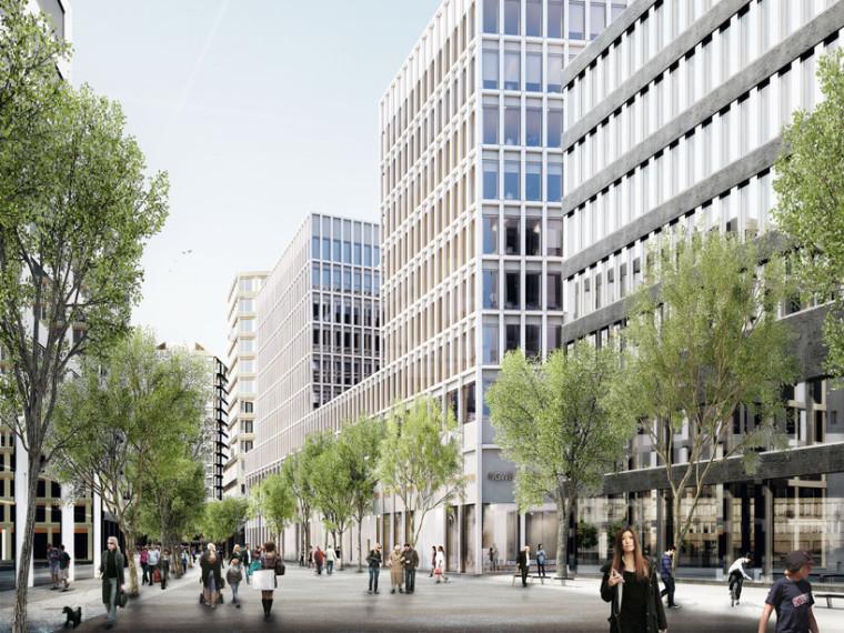 苏黎世Europaallee网络D办公大楼