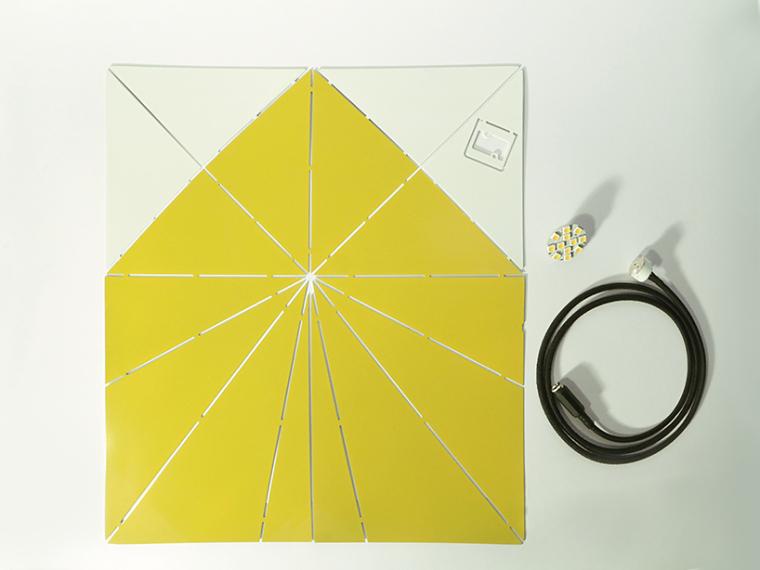 可折叠折纸台灯第2张图片