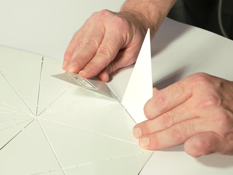 可折叠折纸台灯第4张图片