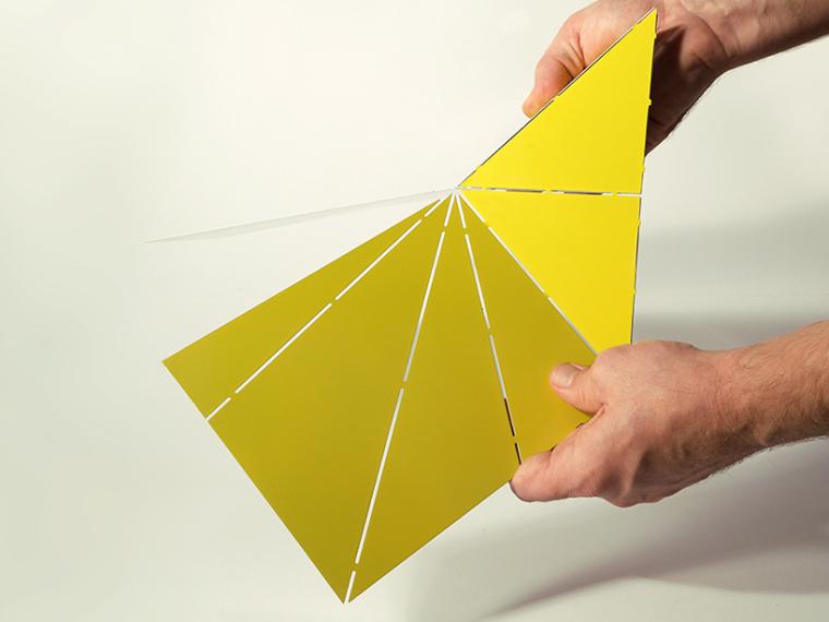 可折叠折纸台灯第7张图片