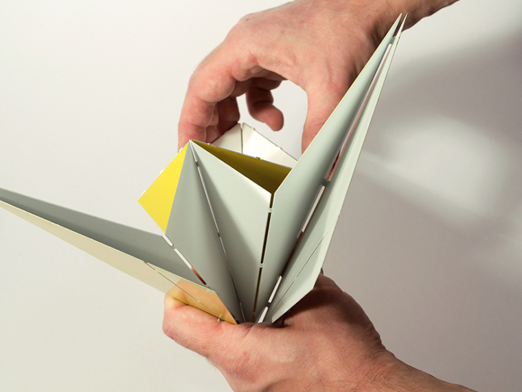 可折叠折纸台灯第10张图片