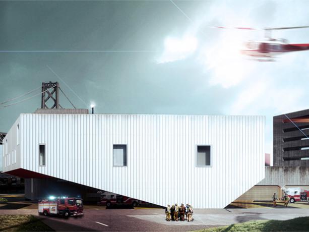 旧金山消防站