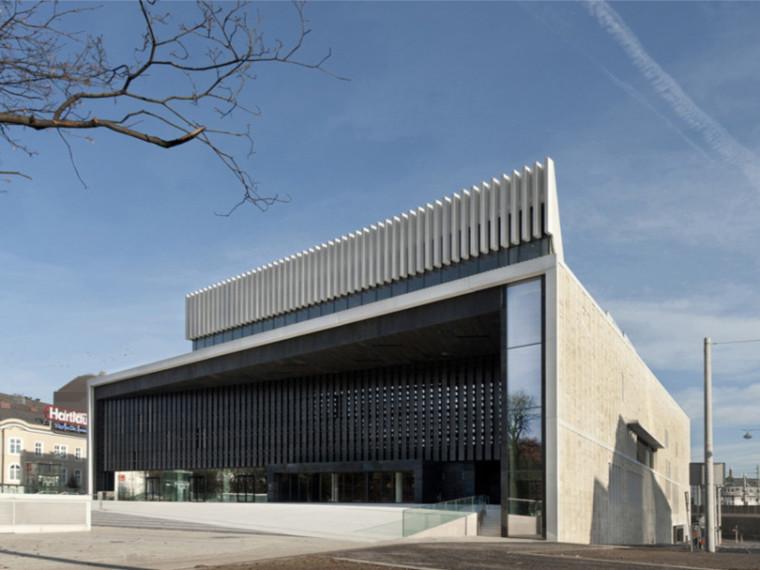 奥地利linz musiktheater音乐厅设计权